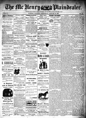McHenry Plaindealer (McHenry, IL), 20 Jan 1892