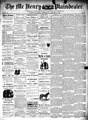 McHenry Plaindealer (McHenry, IL), 27 Jan 1892