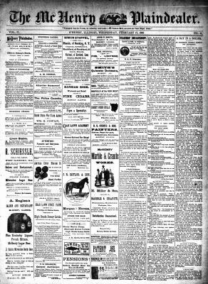 McHenry Plaindealer (McHenry, IL), 17 Feb 1892