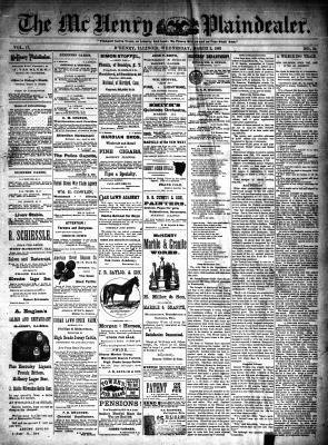 McHenry Plaindealer (McHenry, IL), 2 Mar 1892