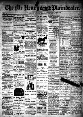 McHenry Plaindealer (McHenry, IL), 30 Mar 1892