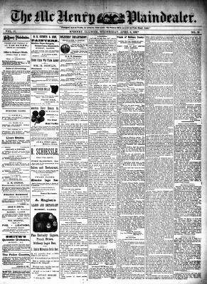 McHenry Plaindealer (McHenry, IL), 6 Apr 1892