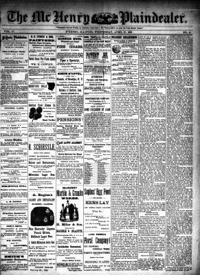 McHenry Plaindealer (McHenry, IL), 27 Apr 1892