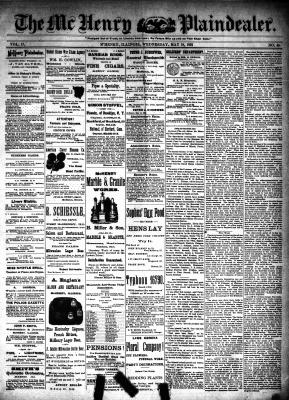 McHenry Plaindealer (McHenry, IL), 18 May 1892