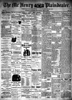McHenry Plaindealer (McHenry, IL), 25 May 1892