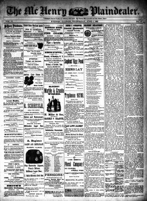 McHenry Plaindealer (McHenry, IL), 1 Jun 1892