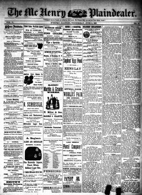 McHenry Plaindealer (McHenry, IL), 8 Jun 1892