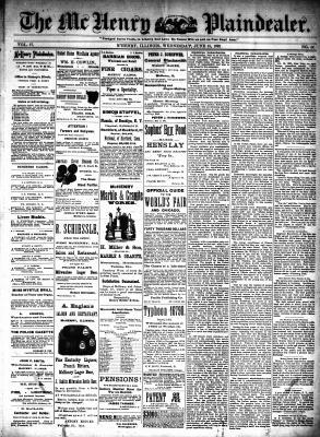 McHenry Plaindealer (McHenry, IL), 15 Jun 1892