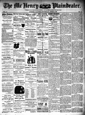 McHenry Plaindealer (McHenry, IL), 22 Jun 1892