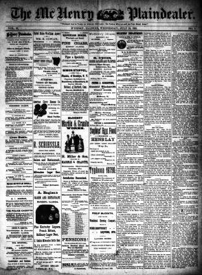McHenry Plaindealer (McHenry, IL), 13 Jul 1892