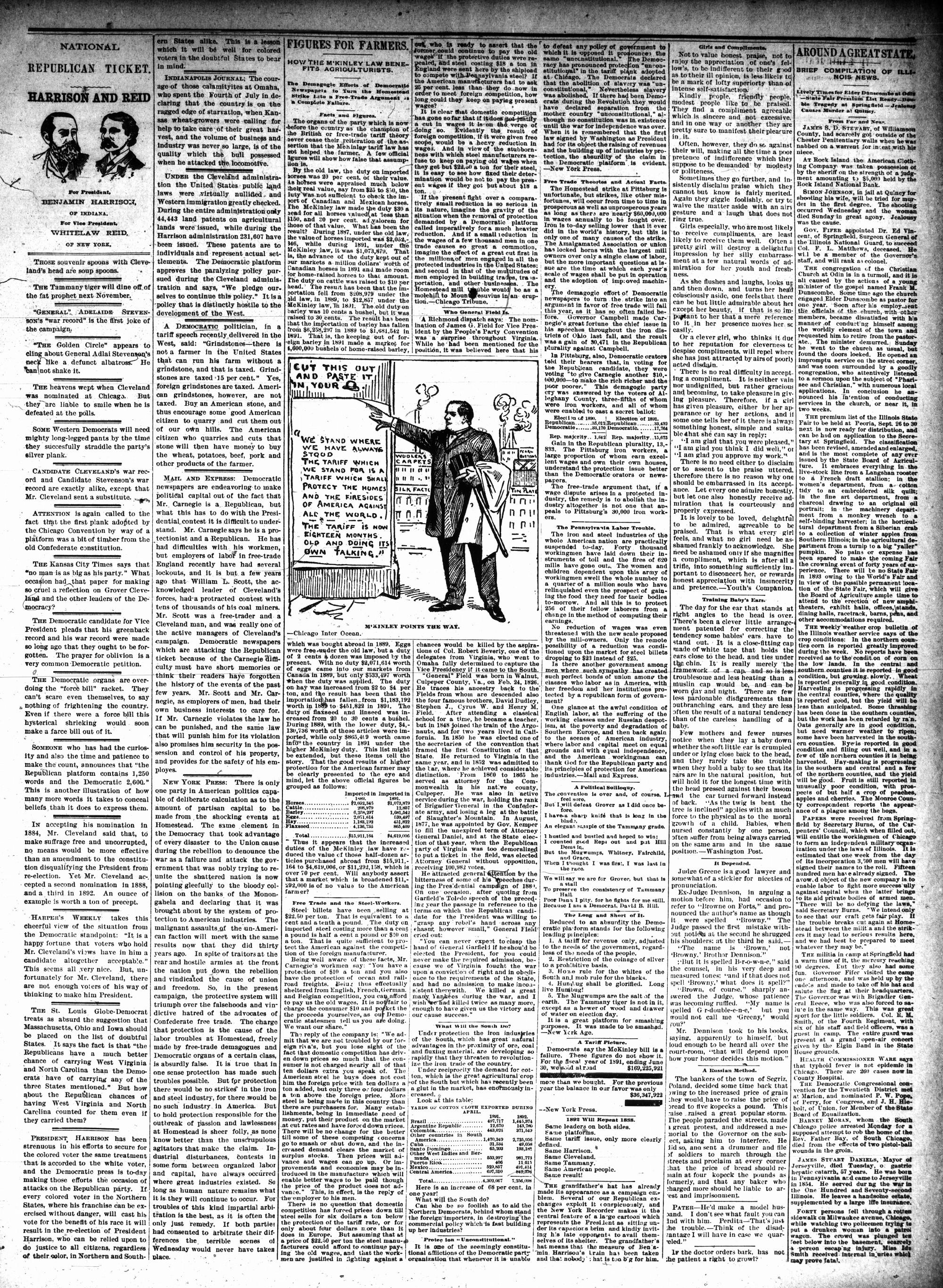McHenry Plaindealer (McHenry, IL), 20 Jul 1892