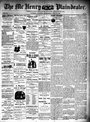 McHenry Plaindealer (McHenry, IL), 27 Jul 1892