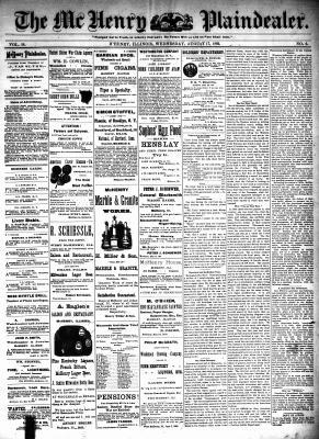 McHenry Plaindealer (McHenry, IL), 17 Aug 1892