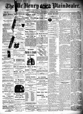 McHenry Plaindealer (McHenry, IL), 24 Aug 1892