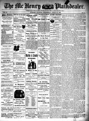 McHenry Plaindealer (McHenry, IL), 31 Aug 1892