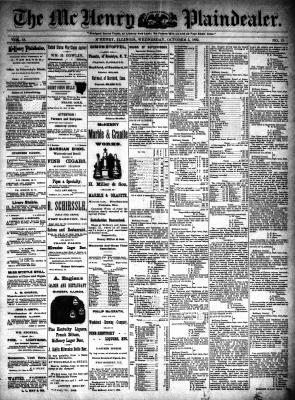 McHenry Plaindealer (McHenry, IL), 5 Oct 1892
