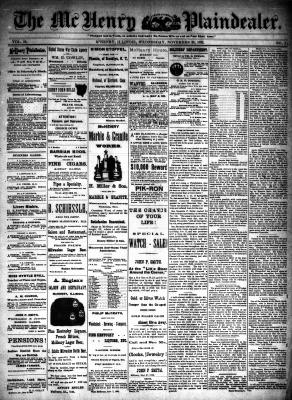 McHenry Plaindealer (McHenry, IL), 30 Nov 1892