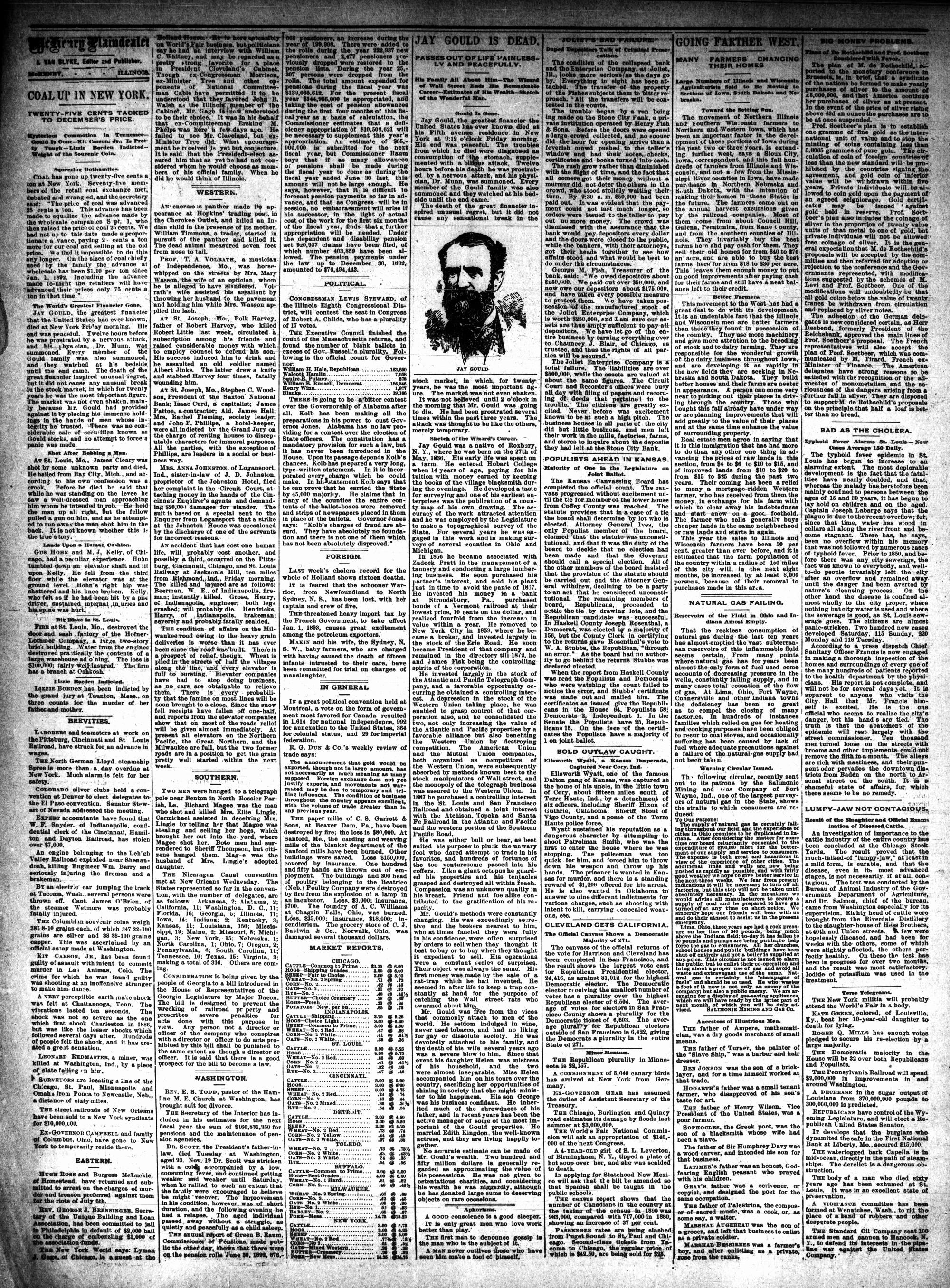McHenry Plaindealer (McHenry, IL), 7 Dec 1892