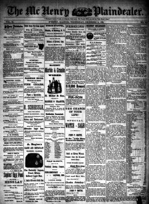 McHenry Plaindealer (McHenry, IL), 14 Dec 1892
