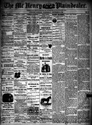 McHenry Plaindealer (McHenry, IL), 28 Dec 1892