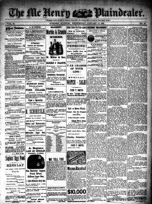 McHenry Plaindealer (McHenry, IL), 18 Jan 1893