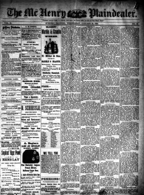 McHenry Plaindealer (McHenry, IL), 25 Jan 1893