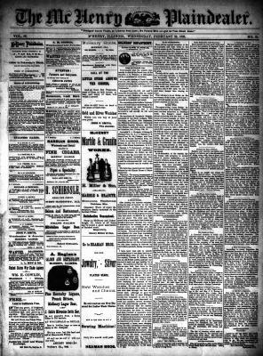 McHenry Plaindealer (McHenry, IL), 22 Feb 1893