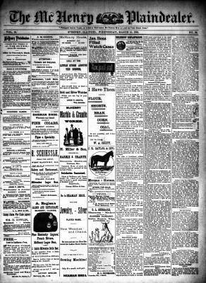 McHenry Plaindealer (McHenry, IL), 15 Mar 1893