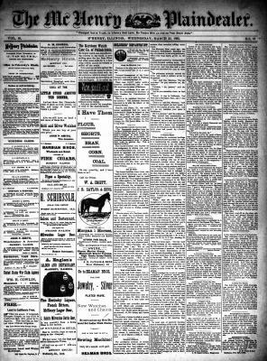 McHenry Plaindealer (McHenry, IL), 22 Mar 1893