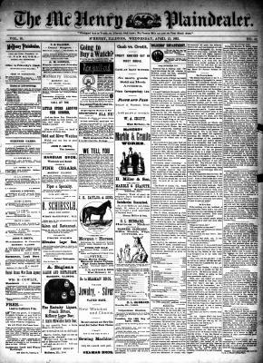 McHenry Plaindealer (McHenry, IL), 12 Apr 1893