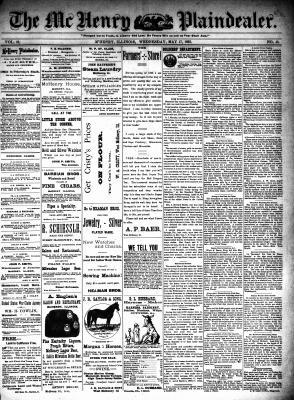 McHenry Plaindealer (McHenry, IL), 17 May 1893