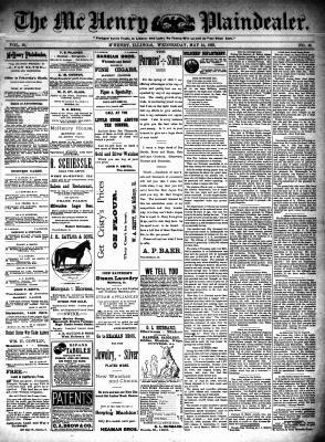 McHenry Plaindealer (McHenry, IL), 24 May 1893