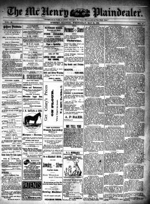 McHenry Plaindealer (McHenry, IL), 31 May 1893