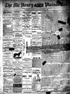 McHenry Plaindealer (McHenry, IL), 7 Jun 1893