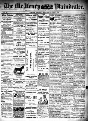 McHenry Plaindealer (McHenry, IL), 14 Jun 1893