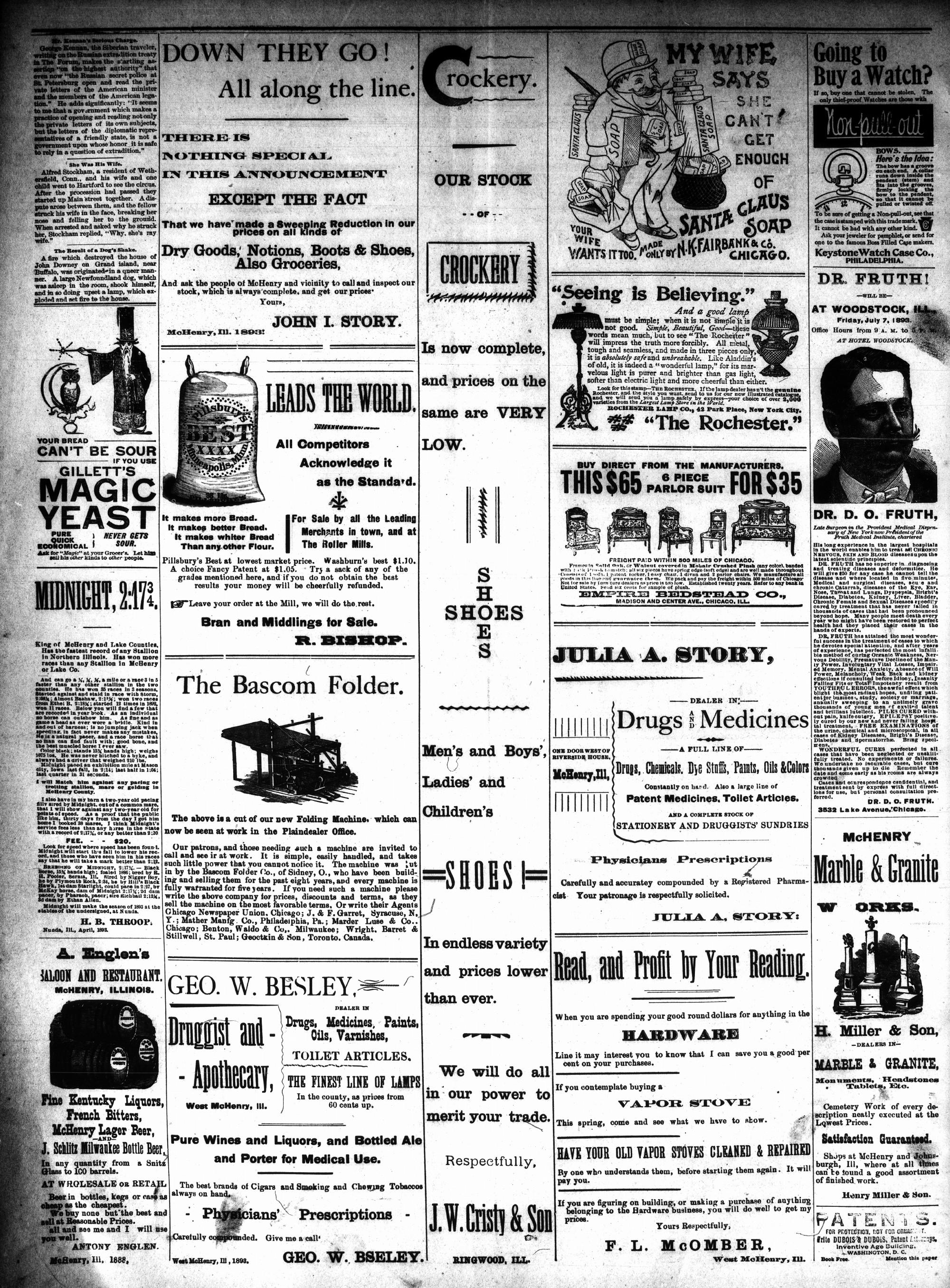 McHenry Plaindealer (McHenry, IL), 21 Jun 1893