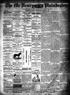 McHenry Plaindealer (McHenry, IL), 9 Aug 1893