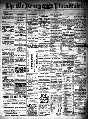 McHenry Plaindealer (McHenry, IL), 4 Oct 1893