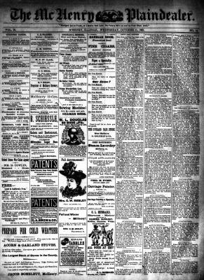McHenry Plaindealer (McHenry, IL), 11 Oct 1893