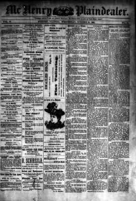 McHenry Plaindealer (McHenry, IL), 25 Oct 1893