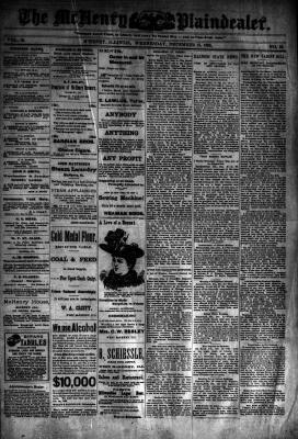 McHenry Plaindealer (McHenry, IL), 13 Dec 1893