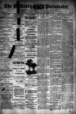 McHenry Plaindealer (McHenry, IL), 20 Dec 1893