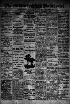 McHenry Plaindealer (McHenry, IL), 27 Dec 1893