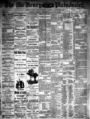 McHenry Plaindealer (McHenry, IL), 3 Jan 1894
