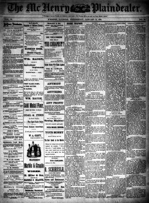 McHenry Plaindealer (McHenry, IL), 31 Jan 1894