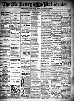 McHenry Plaindealer (McHenry, IL), 28 Feb 1894