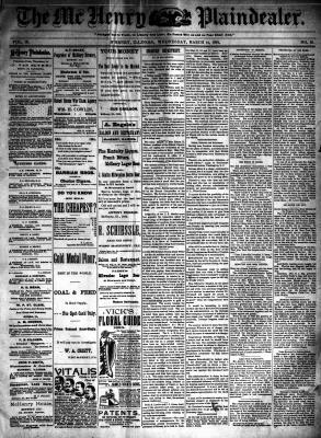 McHenry Plaindealer (McHenry, IL), 14 Mar 1894