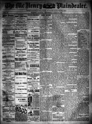 McHenry Plaindealer (McHenry, IL), 28 Mar 1894