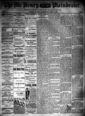 McHenry Plaindealer (McHenry, IL), 11 Apr 1894