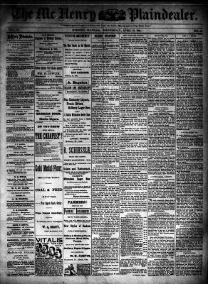 McHenry Plaindealer (McHenry, IL), 18 Apr 1894